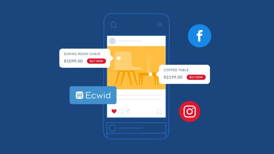 Sell almost anywhere online with Ecwid and PayFast