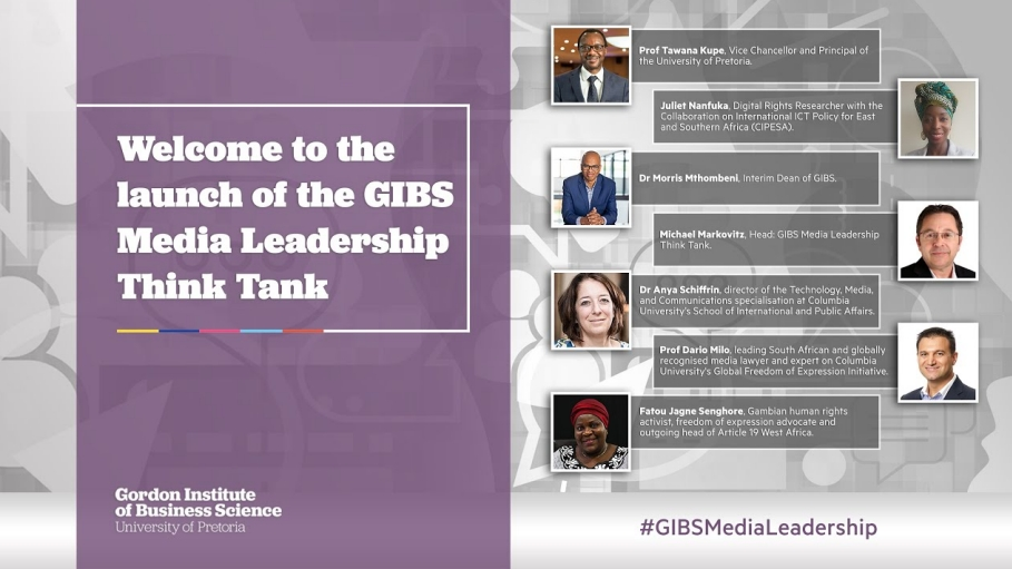 GIBS launches Media Leadership Think Tank