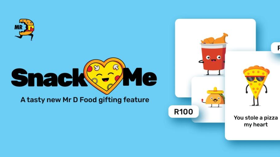 Feel-good food app for lockdown