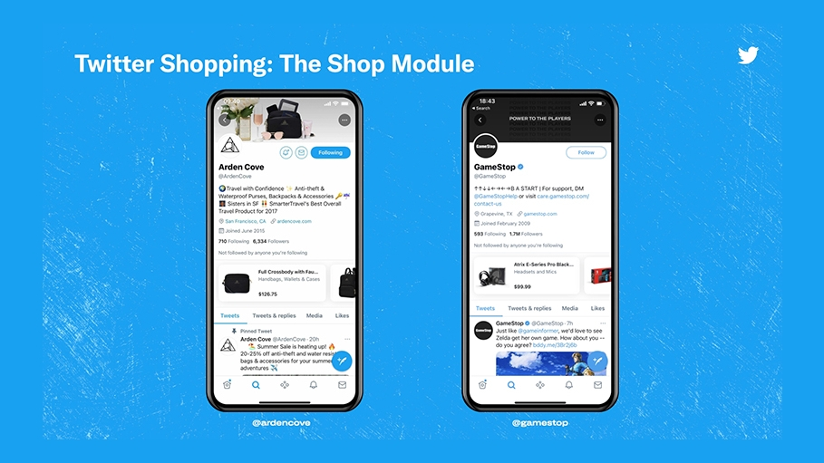 Twitter plays catch-up with ecommerce feature