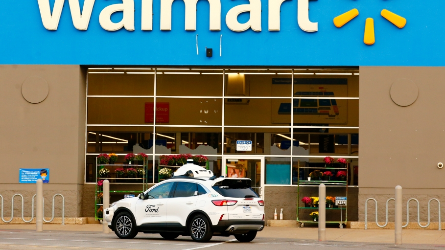Walmart partners with Ford and Argo AI to trial self-driving